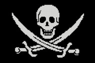 Pirate Symbol - Skull and Sword