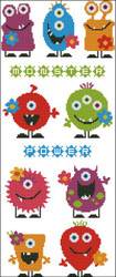 Monster Flower Power Bright Colors