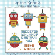 Space Robots Mini Sampler