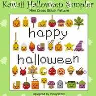Kawaii Halloween Sampler