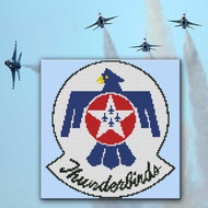 Thunderbirds Air Force Emblem