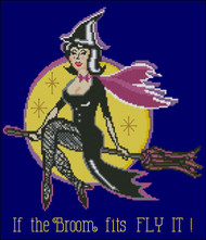 Witch - If the Broom Fits Fly It!