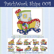 Patchwork Ships 004