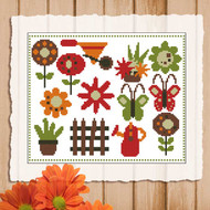 Retro Garden Mini Sampler