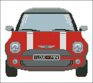 Mini Sports Car  Red