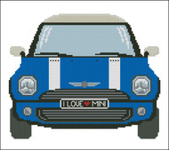 Mini Sports Car Blue