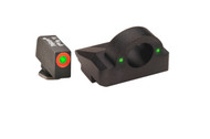 GHOST MAKER Ghost Ring Night Sight For GLOCK's 9mm/40 Green/Orange GL-225