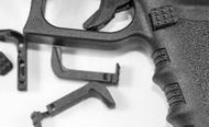 LOW-PRO EXTENDED MAGAZINE RELEASE - Glocks GEN's 1-3