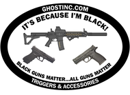 BLACK GUNS MATTER STICKER