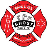 SAVE LIVES WITH ACCUARCY FD STICKER