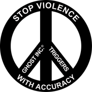 GHOST STICKER: STOP VIOLENCE WITH ACCURACY