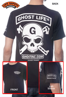 Ghost Life Tee-Shirt GHOST SKULL WITH CROSS CONNECTORS