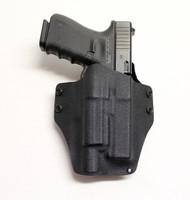 M SERIES MOD II LIGHT COMPATIBLE HOLSTER G19/23/32-BLK-R.H