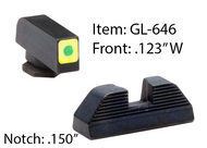 LumiGreen Glock Spaulding Sets for G42 & G43-GL646