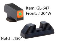 GL647 - Orange Glock Spaulding Sets for G42 & G43