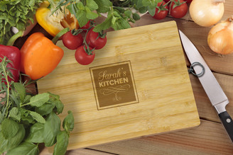 Personalised Chopping Board Standard - My Kitchen - Square Box