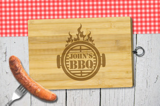 Personalised Chopping Board Standard - BBQ - Flame Grill