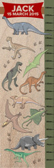 Growth Chart - Dinosaurs