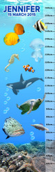 Growth Chart - Marine Life