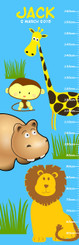 Growth Chart - Zoo Animals