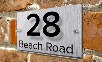 Address Plaque - House Sign