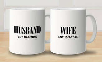 Mug - Set of 2 - Husband and Wife