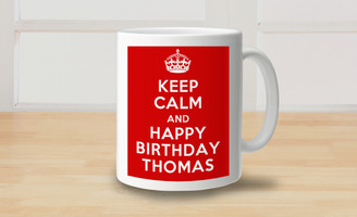 Mug - Keep Calm - Happy Birthday