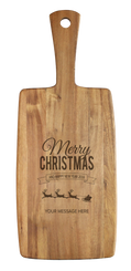 Personalised Cheese Board - Christmas Reindeer