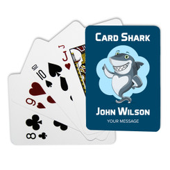 Personalised Playing Cards - Card Shark