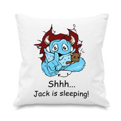Cushion cover - Monster
