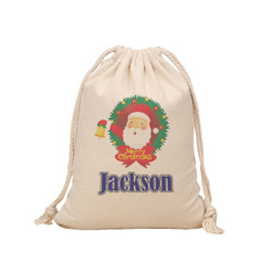 Santa Sack - Wreath