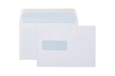 CUMBERLAND ENVELOPE LICK & STICK WHITE WINDOW SECRETIVE BOOKLET MAILER C5 162X229MM BOX 500