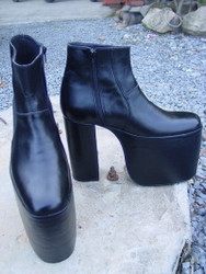 Ankle High Platform Boots 7 inch heel