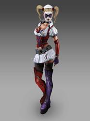 Harley Quinn - Arkham Asylum