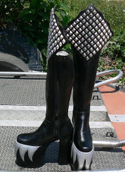 Inspired by; GENE SIMMONS ALIVE BOOTS for Kiss costume