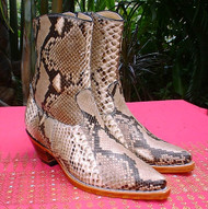 Ladies Python Snake Boots