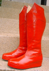 All Leather Boots - Inspired by the movie Superman