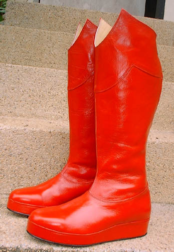 All Leather Boots Inspired By The Movie Superman