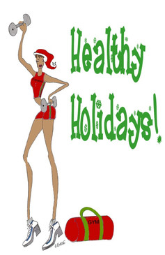 Healthy Holiday cards