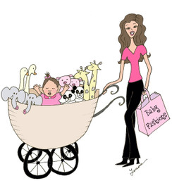 Noah's Ark Mom with Baby Girl cards