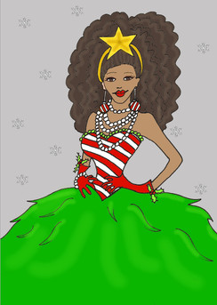 Holiday Diva cards