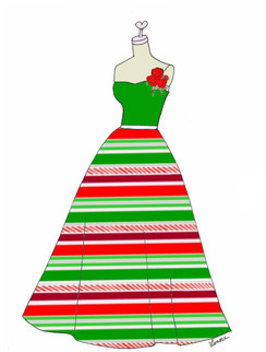 Holiday Dress 1 cards