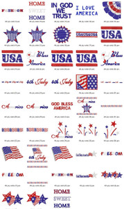 4th july celebration design EMBROIDERY DESIGNS INSTANT DOWNLOAD BEST COLLECTION