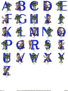 BUZZ LIGHTYEAR CARTOON CHARACTER ALPHABETS FONT EMBROIDERY DESIGNS INSTANT DOWNLOAD HUGE  COLLECTION