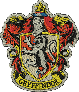 Gryffindor Harry Potter Embroidery Designs Instant Download