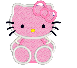 Hello Kitty Embroidery Machine Designs Collection Instant Download