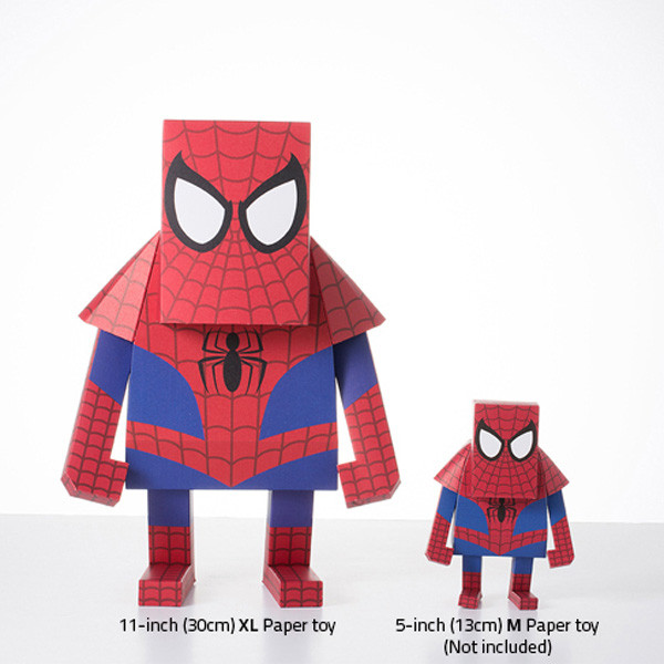 momot marvel spider man paper craft cut outs origami collectible