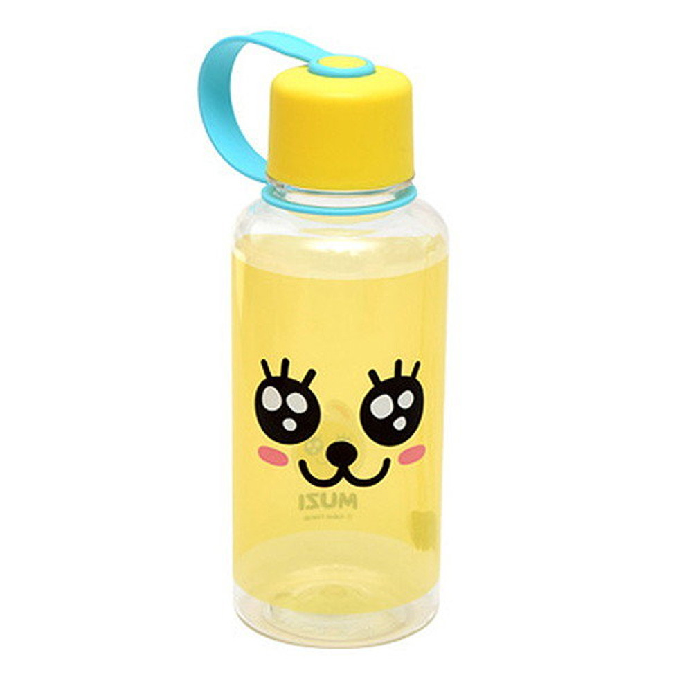 Kakao Friends Easy Handle Water Bottle 380ml (MUZI) / Give Kids Fun ...