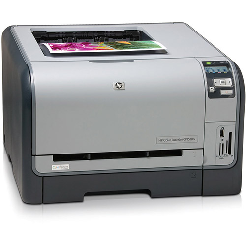 HP Color LaserJet CP1518 printer