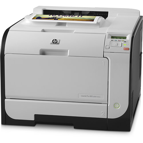 HP Color LaserJet Pro 400 M451dn printer